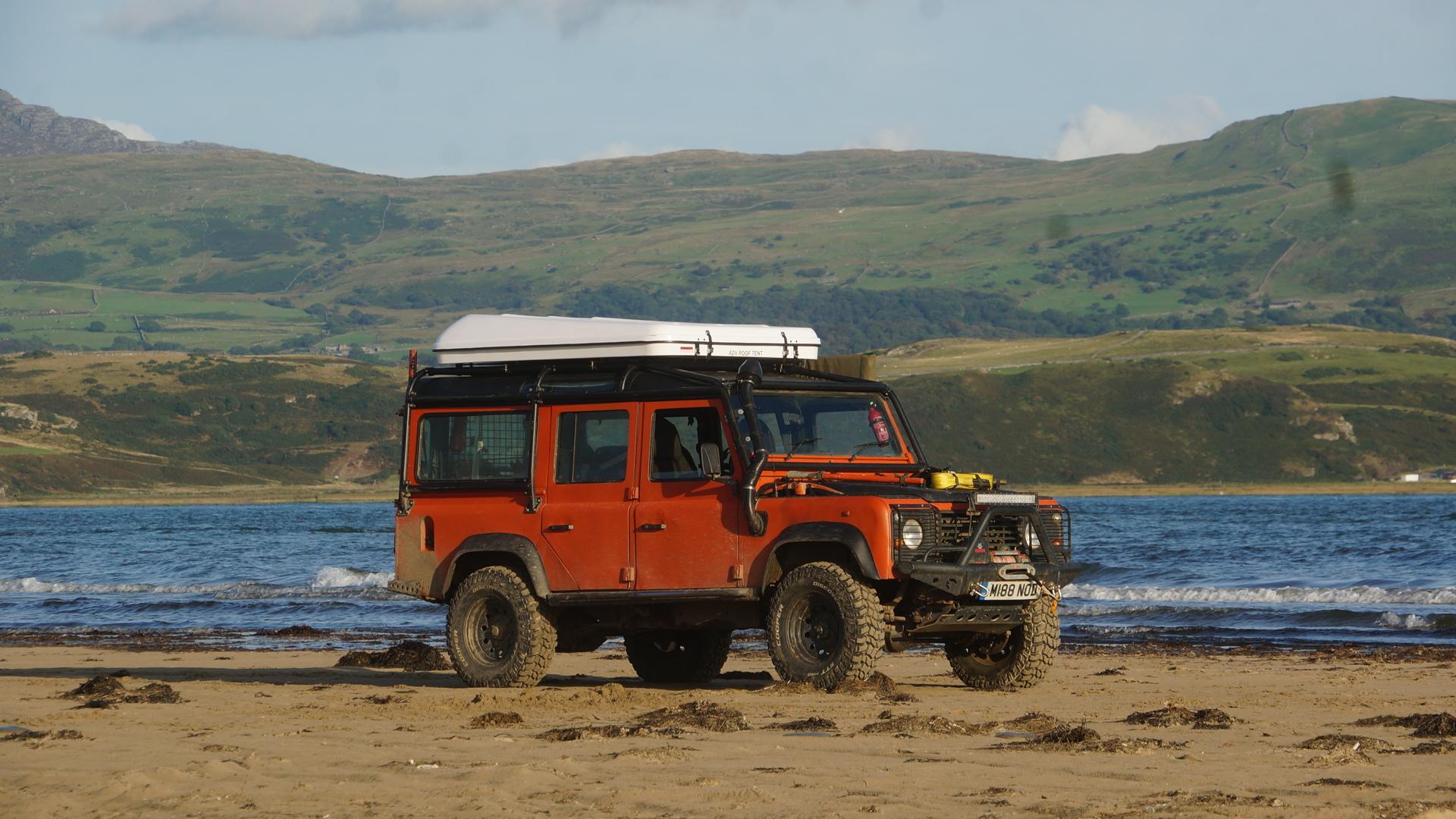 land rover black rock sands