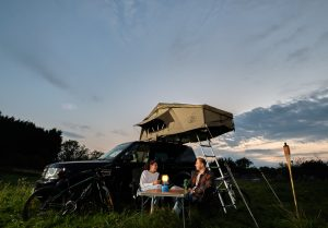 Roof Tent on Discovery 4